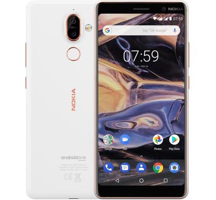 Nokia 7 Plus Wit - Coolblue - Voor 23.59u, morgen in huis
