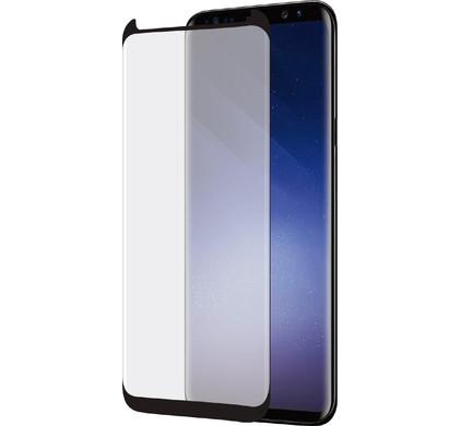 b4d6bf63260e5d Azuri Case Friendly Curved Tempered Glass Samsung Galaxy S9 Screen ...