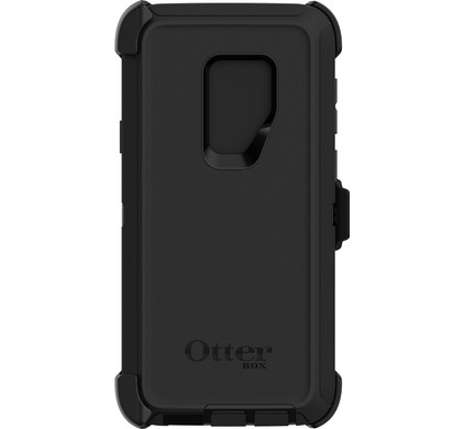 super popular 248ce 11923 Otterbox Defender Samsung Galaxy S9 Plus Back Cover Black