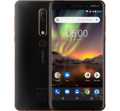 Nokia 6 (2018) 32 GB Zwart