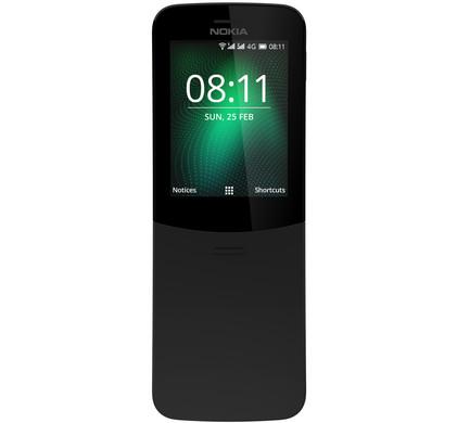 Nokia 8110 4G Zwart - Coolblue - Voor 23.59u, morgen in huis