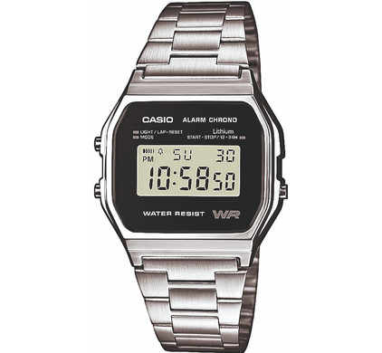 Casio Retro A158WEA-1EF Main Image