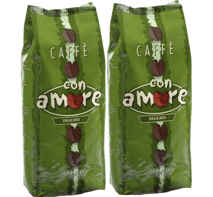 Caffe Con Amore Delicato koffiebonen 2 kg