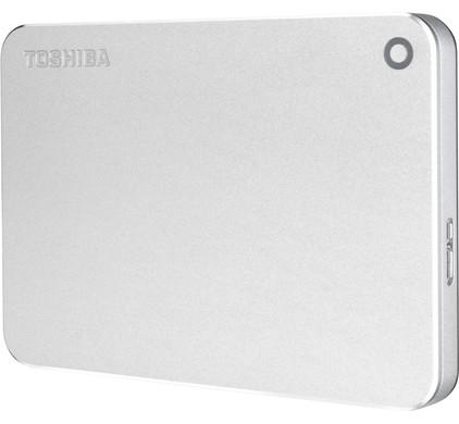 Toshiba Canvio Premium 2TB Zilver
