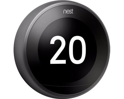 Google Nest Learning Thermostat V3 Premium Zwart