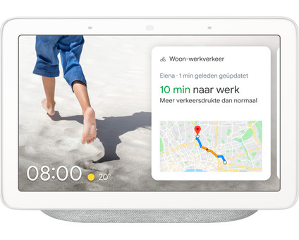 Google Nest Hub Chalk