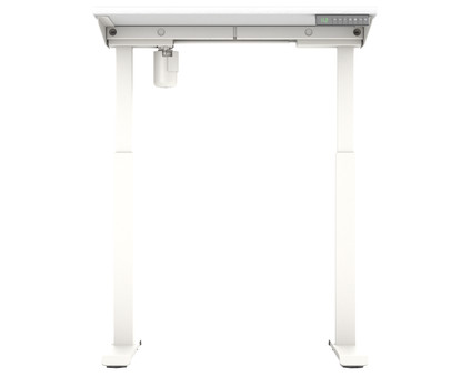 Worktrainer StudyDesk Sit-Stand Desk 80x80cm White/White