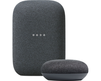 Google Nest Audio Charcoal + Nest Mini Charcoal