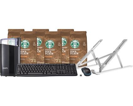 Thuiswerkwinkel Pakket - Koffie Light