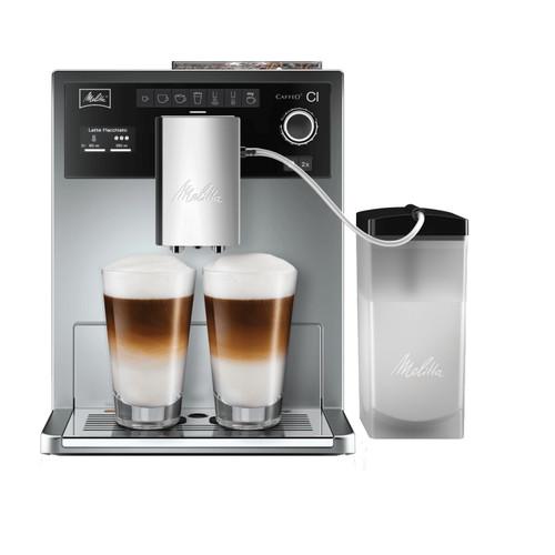 Melitta Caffeo CI Zilver met melkkan