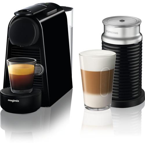 Magimix Nespresso Essenza Mini Zwart + Melkopschuimer