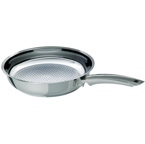 Fissler Crispy Steelux Premium Koekenpan 28 cm Zonder Deksel