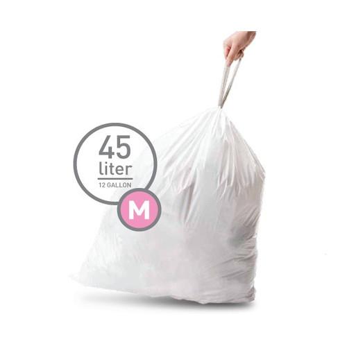 Simplehuman Afvalzak Code M Pocket Liner 45 Liter (60 stuks)