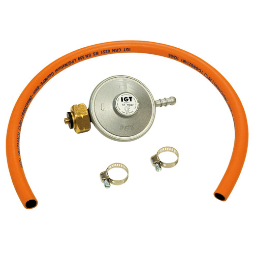 Barbecook Gasregulator + Slang 37 mbar BE