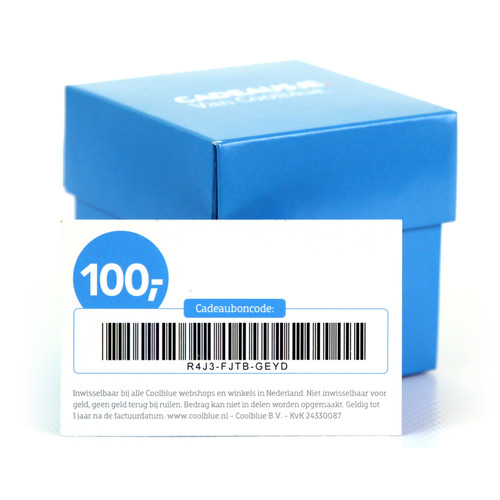 Cadeaubon 100 euro NL
