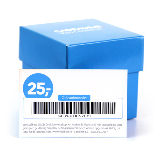 Cadeaubon 25 euro NL