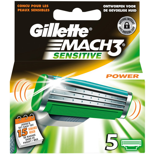 Gillette Mach 3 Power Sensitive scheermes