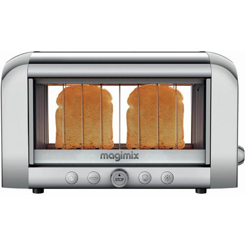 Magimix Le Vision toaster Mat Chroom