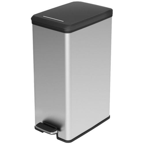 Curver Slimbin 40 Liter Zilver