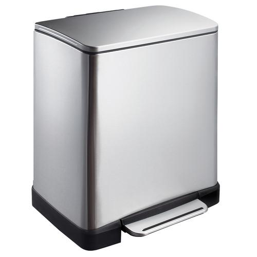 EKO E-Cube 10+9 Liter Mat RVS