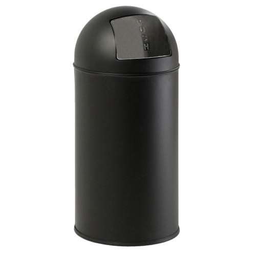 EKO Pushcan 40 Liter Mat Zwart