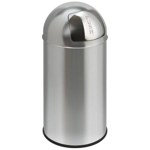EKO Pushcan 40 Liter Mat RVS