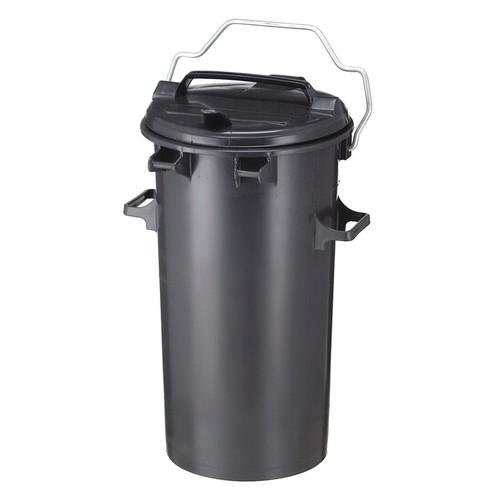 Vepa Bins Buiten Prullenbak 50 Liter Grijs