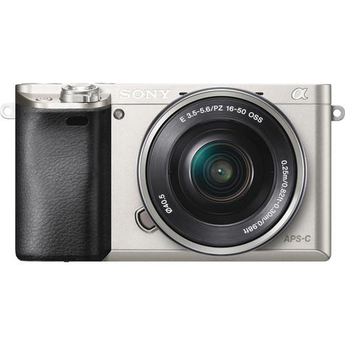 Sony Alpha A6000 Zilver + PZ 16-50mm f/3.5-5.6 OSS
