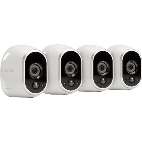 Netgear Arlo Smart Home HD-cam Four Pack