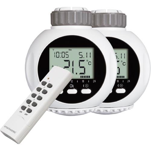 Smartwares Radiator Thermostaat Duo Pack