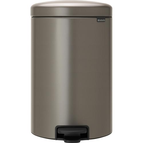 Brabantia NewIcon Pedaalemmer 20 Liter Platinum