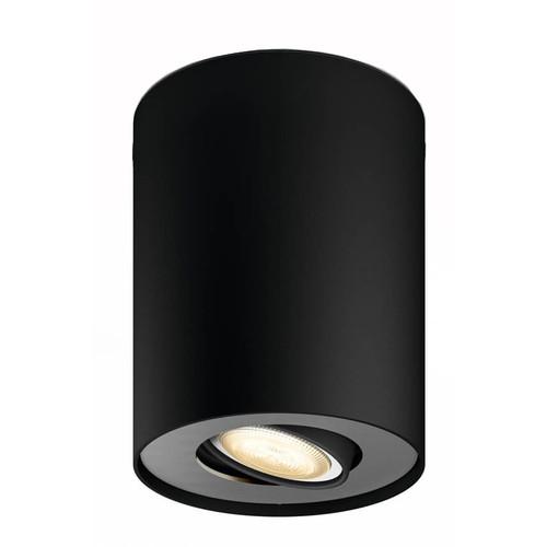 Philips Hue Pillar Extra Single Spot Zwart
