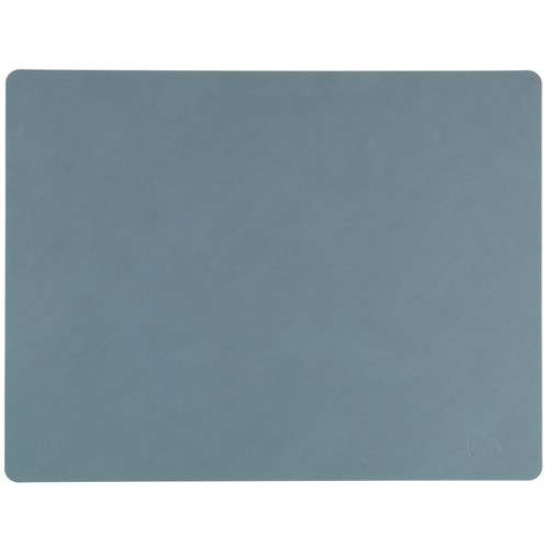 LIND DNA Table Mat Square L Nupo Licht Blauw