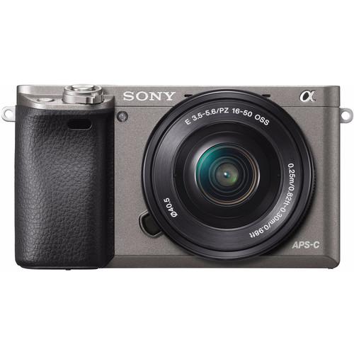 Sony Alpha A6000 Grijs + PZ 16-50mm f/3.5-5.6 OSS