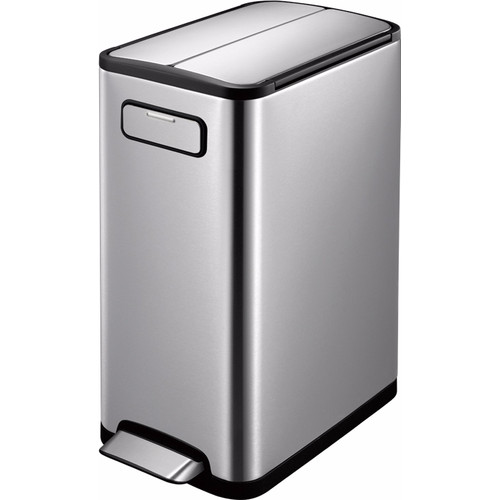 EKO Ecofly Step Bin Recycle 20 + 20L RVS