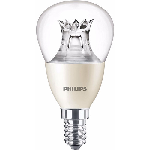 Philips LED-lamp 6W E14 Dimbaar (4x)