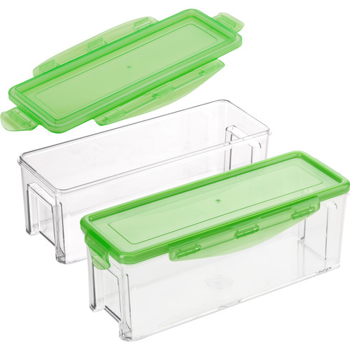Nicer Dicer Magic Cube Big Canister Opvang + Bewaarset