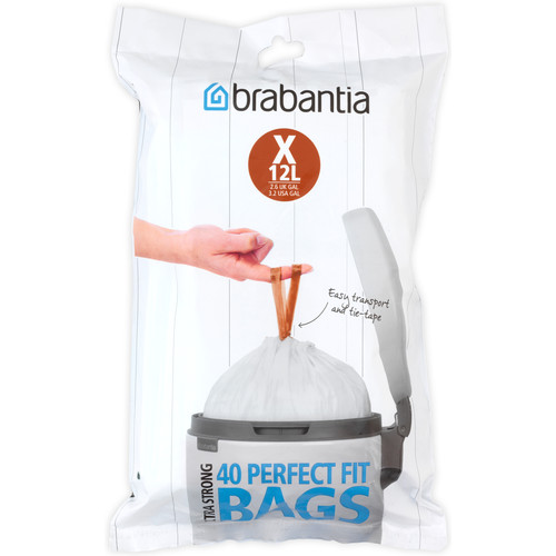 Brabantia Perfectfit Code X - 12 Liter (40 stuks)