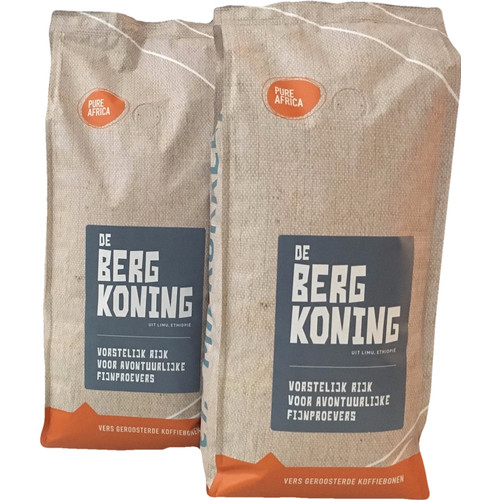 Pure Africa Bergkoning Arabica koffiebonen 2 kg