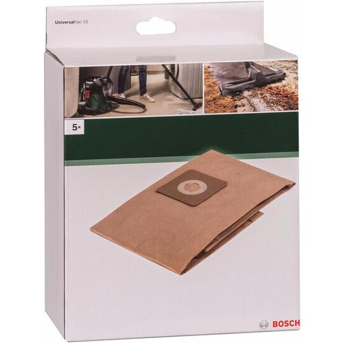 Bosch filterzakken voor UniversalVac 15 (5 stuks)