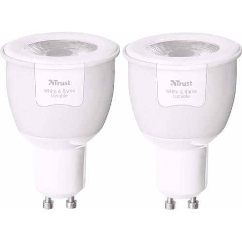 Trust Smart Home GU10 White & Flame Duopack