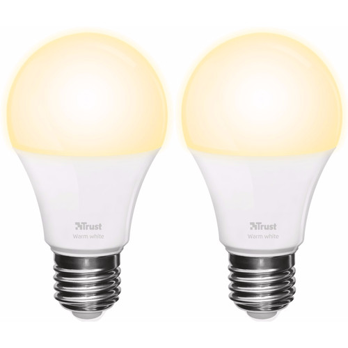 Trust Smart Home E27 Losse Lamp Warm Wit Duopack