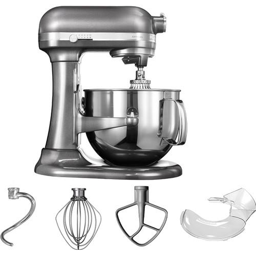 KitchenAid Artisan Mixer 5KSM7580XEMS Bowl-Lift Tin Grijs