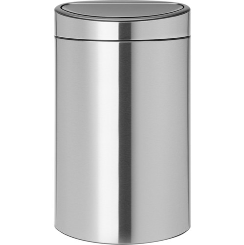 Brabantia Touch Bin Recycle 10 + 23 liter Matt Steel