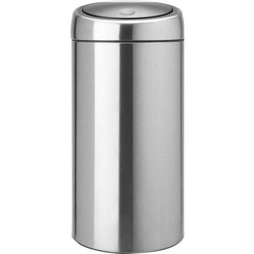 Brabantia Twin Bin 2x20 Liter Matt Steel Fingerprintproof