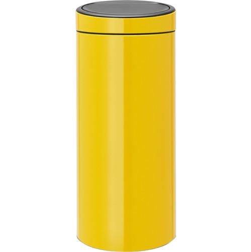 Brabantia Touch Bin 30 Liter Daisy Yellow