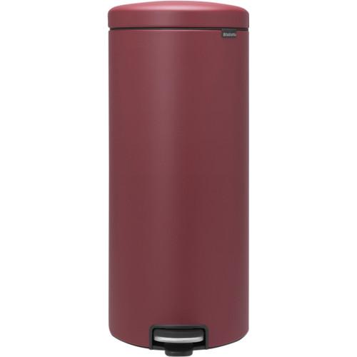 Brabantia NewIcon Pedaalemmer 30 Liter Mineral Windsor Red