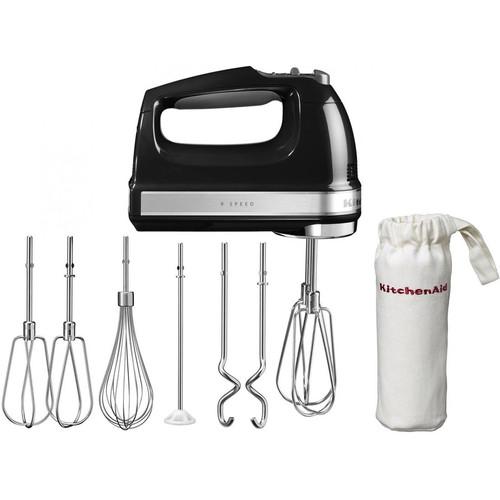 KitchenAid 5KHM9212EOB Handmixer Onyx Zwart