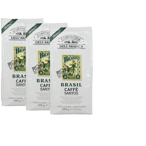 Caffe Corsini Bonen Brasil 3 x 500 gram