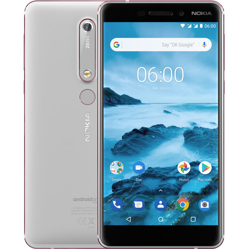 Nokia 6 (2018) 32 GB Wit